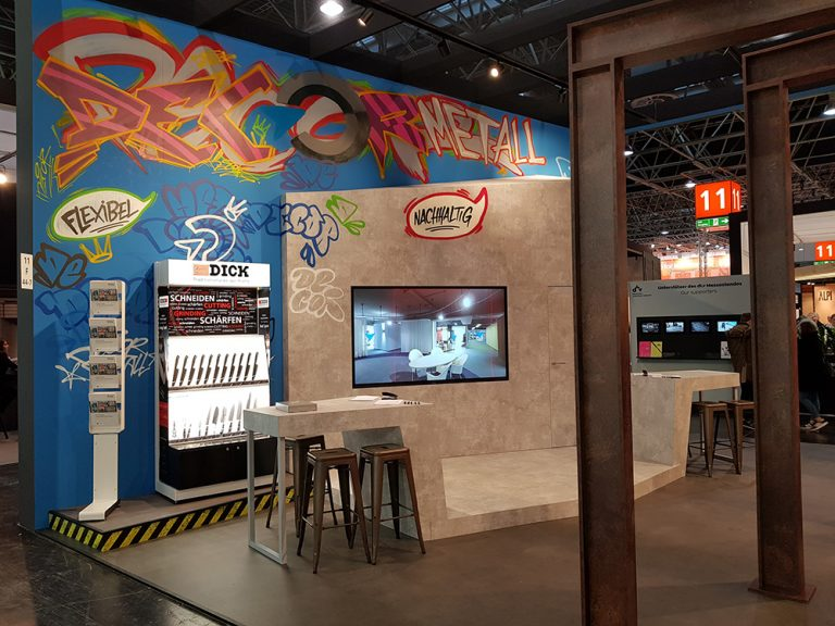 decor metall Messestand EuroShop 2020